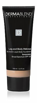 Dermablend Leg and Body Makeup Body Foundation SPF 25 - Fair Ivory 10N - 3.4 oz