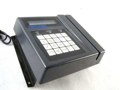 AccuTime Systems PayChex 300 Series Time Data Collection Terminal Digital LCD