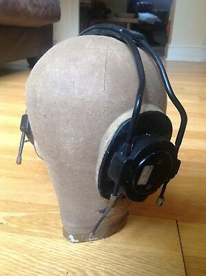 Original Ww2 Raf Air Ministry  Bomber Flying Helmet Headphones