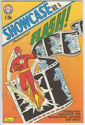 SHOWCASE #4 *GERMAN VARIANT* 1st appearance of the S.A. Flash! DC COMICS 2000