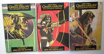 Mike Grell Green Arrow The Longbow Hunters 1-3