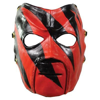 WWE Kane Deluxe Adult Mask Wrestling Officially Licensed Costume Accessory CHOP
