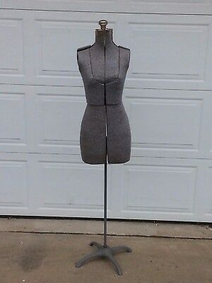 Vintage Acme (?) Adjustable Dress Form, Seamstress Sewing Clothes, Mannequin