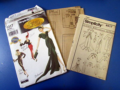Gene Marshall Simplicity Pattern #9317 issued in 2000 - Never Used
