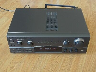 Technics SA-AX620 Stereo & Surround Receiver with Remote Control, Phono Input