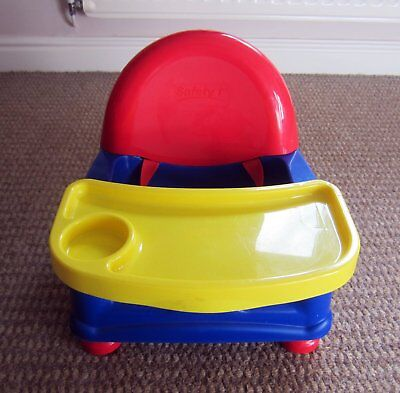 Portable Baby/toddler Booster Seat Feeding High Chair & Dinner Meal Tray