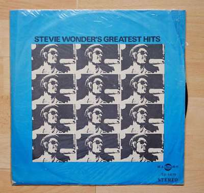 Stevie Wonder - Greatest Hits - rare Taiwan vinyl album (Giant - TD-1479)