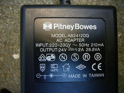 Pitney Bowes Ac Adaptor  A82412Dg