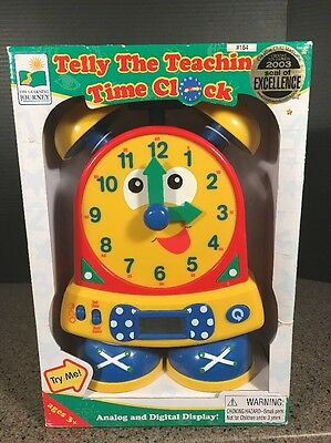 Telly the Teaching Time Clock-Primary Set