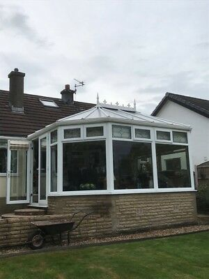 Conservatory Roof Good Condition  16ft X 13ft Alter Size With Pitch 99p auction