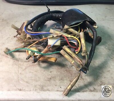 1974 Kawasaki G3 90 Wiring Loom Harness Electrical Oem 26001-114