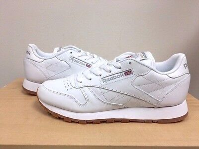 0e6402e25d2fab WOMENS REEBOK CLASSIC LEATHER  49801  White Gum -  69.00