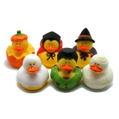 Set of 6 Halloween Themed Ducks