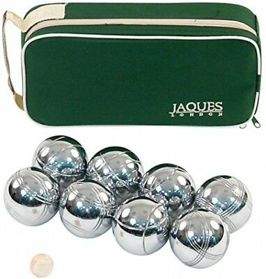 Boules 8 Set - Luxury 8 Boules Set in Zip Case - Rust-Z treated - Jaques of