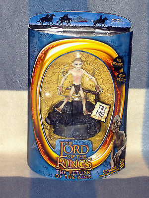 "Bnisb Lord Of The Rings Action-Figur Trotk Von Spielzeug Biz ""smeagol"" Ware #"