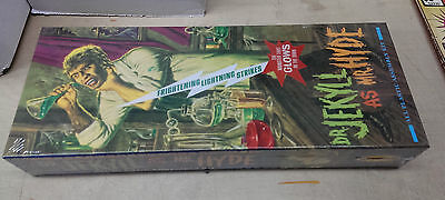 Dr. Jekyll as Mr. Hyde 2007 Moebius GLOWS Model Kit  - only 480 made / RARE @@