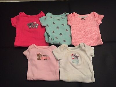 baby girl clothes lot newborn carters Bodysuits