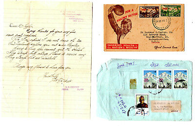 (6) WORLDWIDE COVERS: 1946-70s New Zealand w/ltr, Gibralter, Germany ++  [9-21
