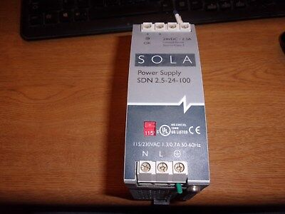 Sola Power Supply Sdn 2.5-24-100  (07615)