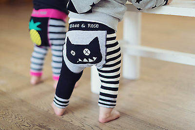 BNWT Blade and Rose Crazy Cat Leggings 0-6, 6-12, 1-2 & 2-3 Years