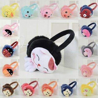 Winter Women Girl animal Plush Ear Pad Muffs Earmuffs Warmer Headband Earwarmers