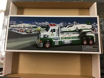 Brand New in the Box 2014 Toy Truck and Space Cruiser with Scout Hess Truck