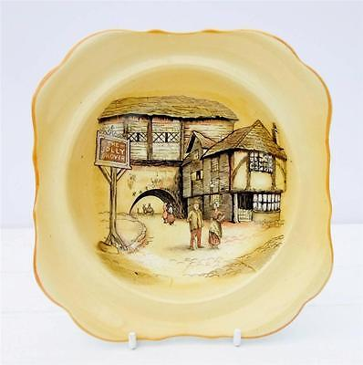 Vintage Lancaster Sons English Ware Dish Jolly Drover Inn