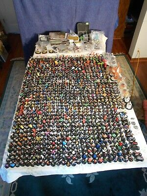HeroClix Huge Lot 920+ Maps Team Bases Cards Marvel DC