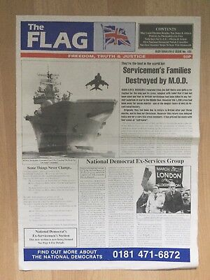 The Flag Newspaper 1997 No 102 National Front NF British National Party BNP