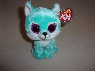"""Ty Mwmt Jade The Wolf Beanie Boo- 6"""" Boos- Great Wolf Lodge Exclusive- In Hand!"""