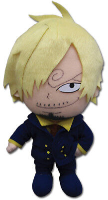 NEW GE One Piece Sanji Plush 20cm Officially Licensed GE52555 US Seller