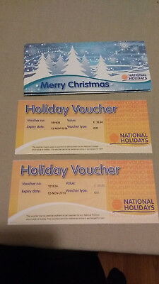 £60 of National Holidays Vouchers