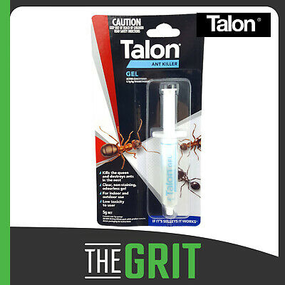 Talon Ant Killer Pesticide Gel  5g Syringe Home Office Pest Control