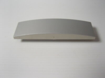 """PC Desktop Tower 5.25"""" Drive Bay Blank Filler Cover Plate Curved Silver for 35mm"""