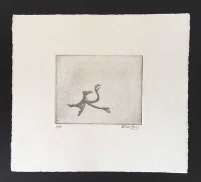 Edward Gorey *Figbash on Pointe to Right* Ltd Ed. Etching-SIGNED BY EG- V. RARE