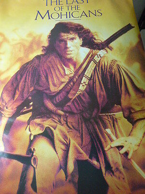 """The LAST OF THE MOHICANS """"GIANT"""" 45in.X 65in.ORIGINAL MINT poster !!!"""