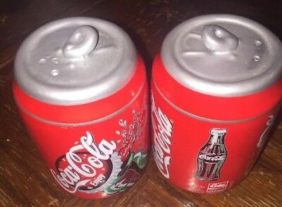 Coca-Cola Salt and Pepper Shakers