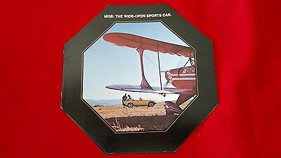 Octagonal MGB The Wide Open Sports Car Sales Brochure 1977