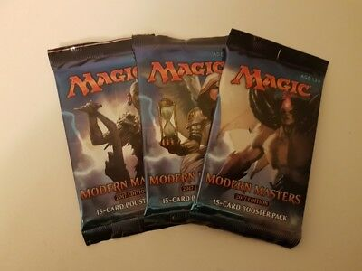 magic the gathering modern masters 2017 new sealed booster packs
