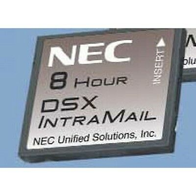 NEW NEC DSX Systems Vm Dsx Intramail 4port 8hr Voicemail Nec-1091011