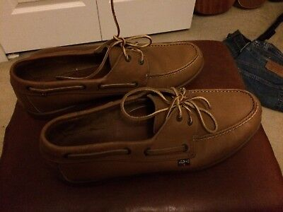 Vintage Levi's Shoes and Boots / Boat Shoes Brown Leather Men's Size 11M