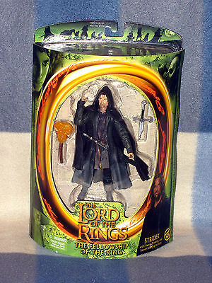 "Bnisb Lord Of The Rings Action-Figur Tfotr Von Spielzeug Biz ""strider"" Ware #"