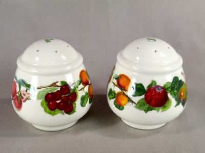 Portmeririon Pomona Salt & Pepper Set 1st Quality Exc Condition