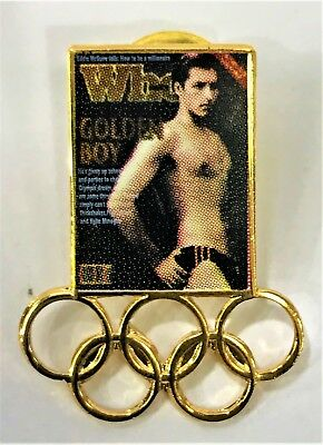 Who Magazine Golden Boy Olympics 2000 Pin Collect #1063