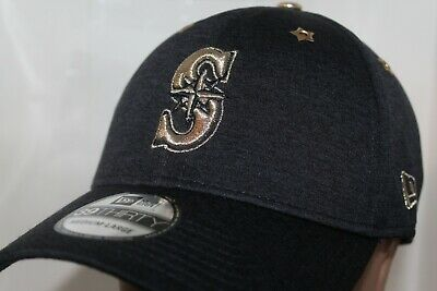 official photos 9bfaa 31eae Seattle Mariners New Era 2017 MLB All Star Game Patch 39thirty,Cap,Hat Sz