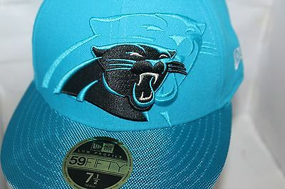 CAROLINA PANTHERS NEW Era NFL 2016 Sideline Official 59FIFTY Fitted ... 915073256