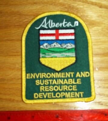 ALBERTA ENVIRONMENT AND SUSTAINABLE RESOURCE DEVELOPEMENT PATCH,police,security