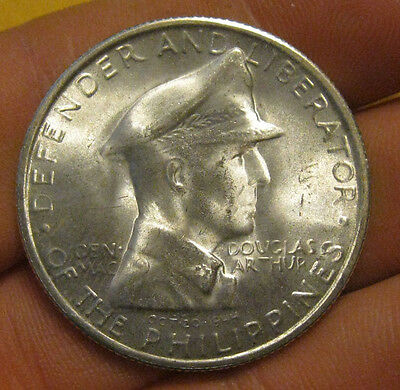 Philippines - 1947 Large Silver MacArthur Peso - Nice!