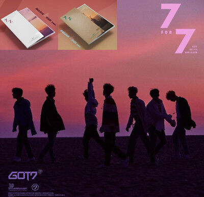 GOT7 KPOP Album 7 FOR 7 [MAGIC hour A Ver. or GOLDEN hour B Ver.] CD