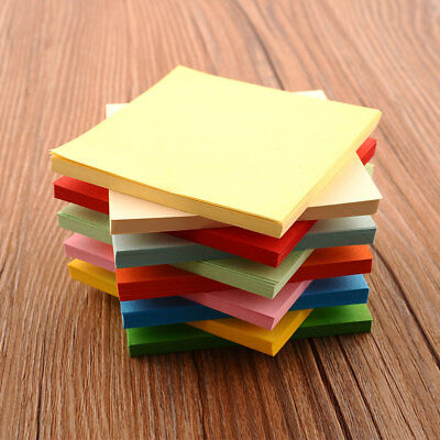 Origami Square Paper Double Sided Coloured Sheets Colorful Scrapbooking New 8CM
